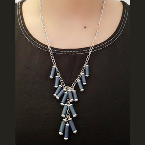 Paper Bead Necklace 30