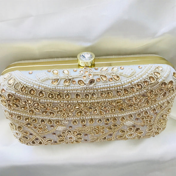 Kundhan Box Clutch