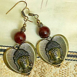 Lord Buddha Earrings 1
