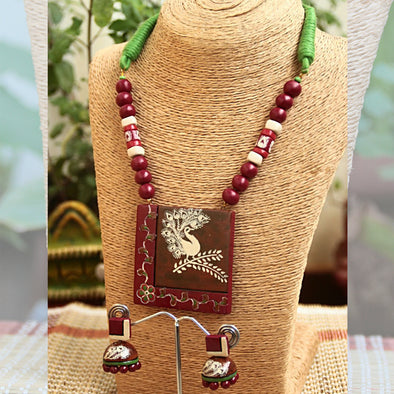 Terracotta Necklace Set 35