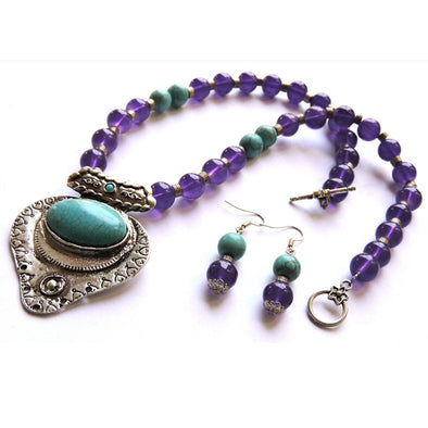Purple Haze Necklace Set