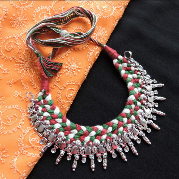 Thread Choker Necklace 19