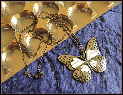 Fashion Necklace - Butterfly design