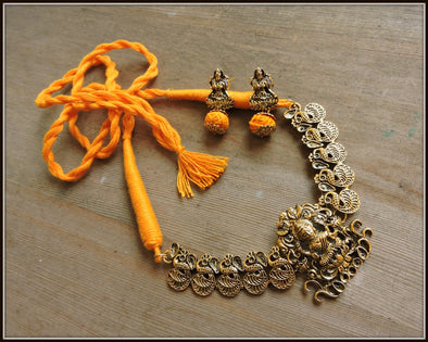 Devi Necklace - Golden Yellow