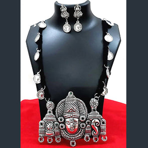 Balaji and Mahalaxmi Necklace Set