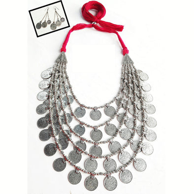 Five Line Gini Statement Neckpiece