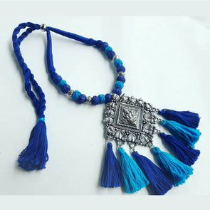 Temple Pendant Statement Neckpiece