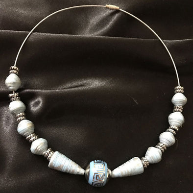 Paper Beads Necklace 1