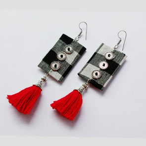 Cloth Designer Earrings 1
