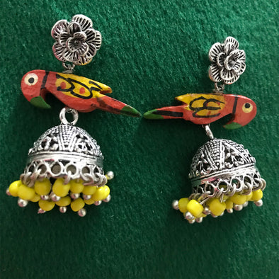 Small Peacock Jhumki