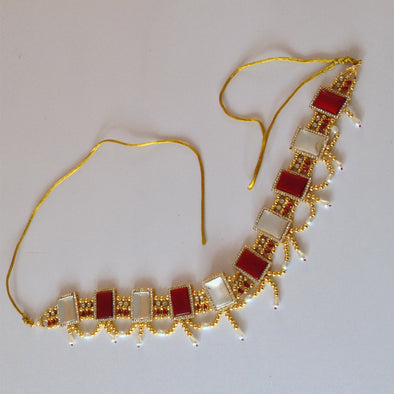 Kundan Work Hip Chain