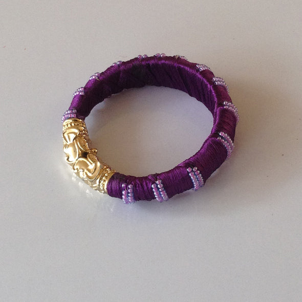 Silk Thread Bangle 1