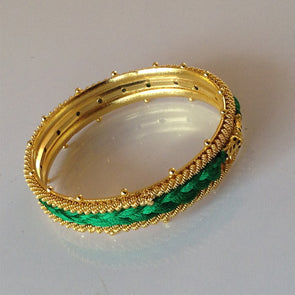 Silk Thread Bangle 2
