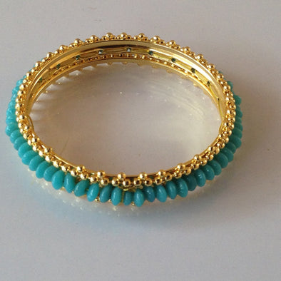 Glass Bead Bangle 2