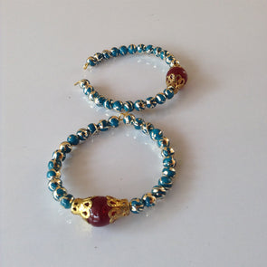 French Bead Earrings