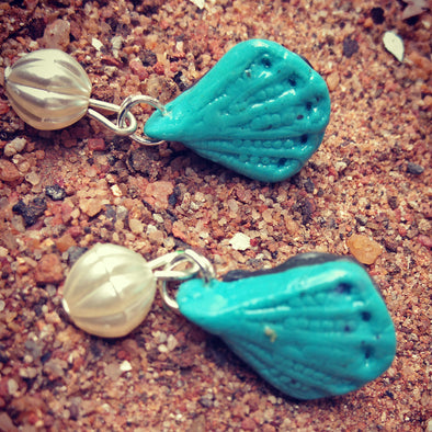 Polymer Clay Hanging Earring 1