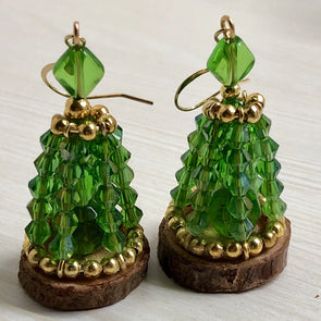 The Fir Tree- Christmas Earring Collection