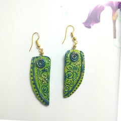 Tribal Art Earrings