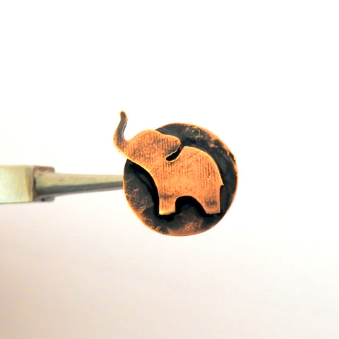 Elephant Big Nose Pin / Clip On