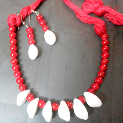 White Kori Necklace