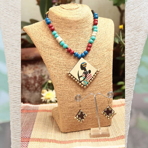 Terracotta Necklace Set 21