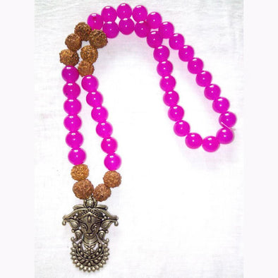 Rudraksha Statement Piece