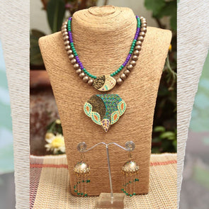 Terracotta Necklace Set 24