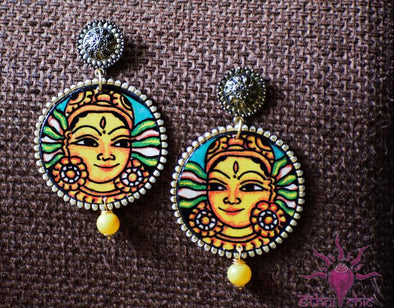 Handcrafted Mural Earrings 2