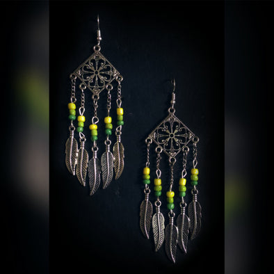 Funky Dream Catcher Earring