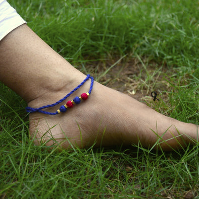 Dokra Anklet Layered 1