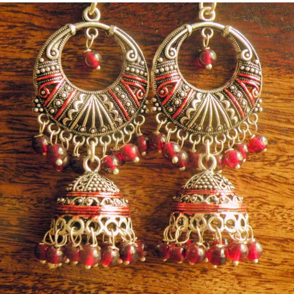 Anashwara Evergreen Meenakari Jhumka Collection 8