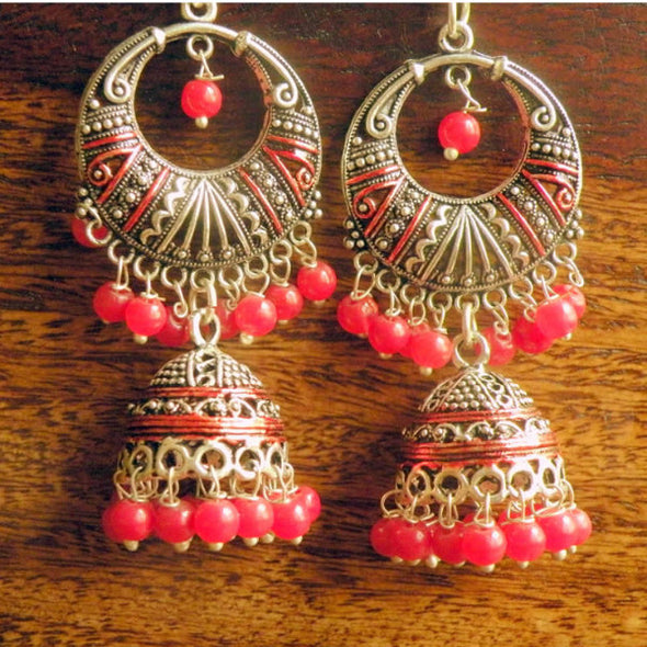 Anashwara Evergreen Meenakari Jhumka Collection 12