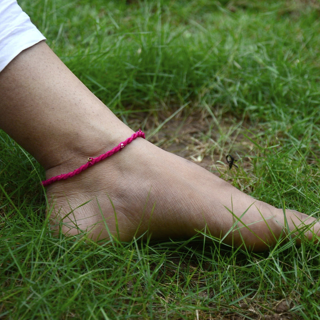 Dokra Anklet Simple