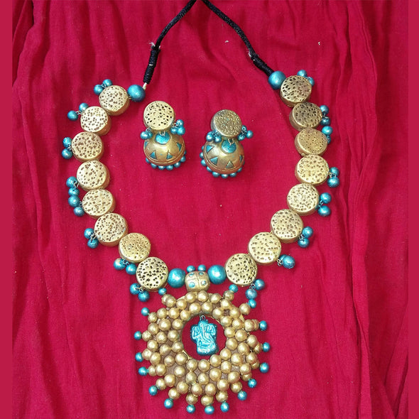 Terracotta Necklace Set 1