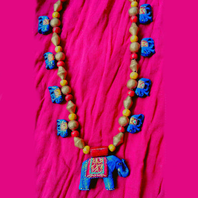 Terracotta Necklace 1