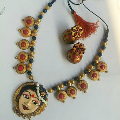 Terracotta Necklace Set 2