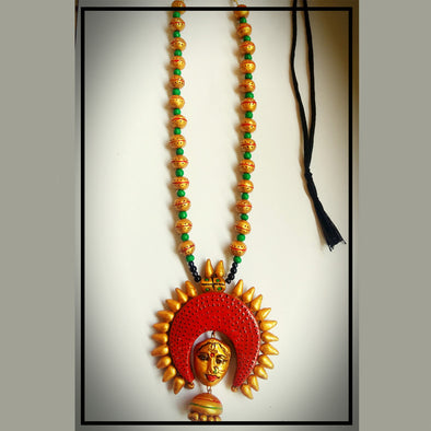 Terracotta Necklace 4