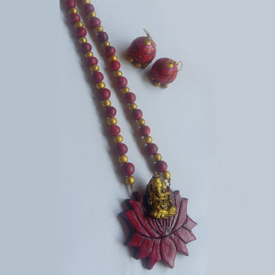Terracotta Necklace Set 3