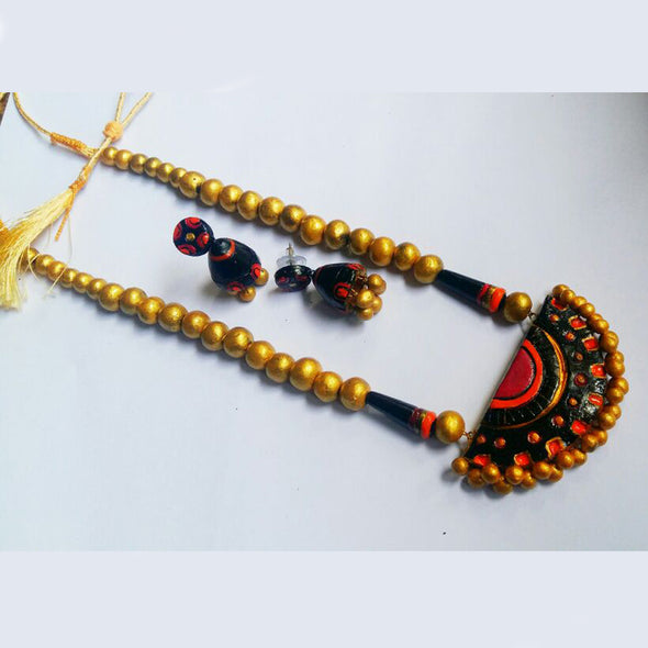 Terracotta Necklace Set 9
