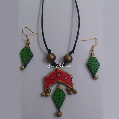 Terracotta Necklace Set 10