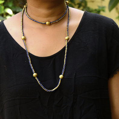 Dokra Necklace Long
