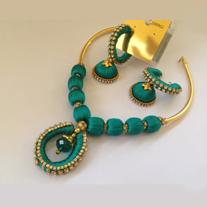 Rama Green Necklace Set
