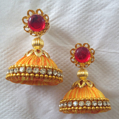 Mixed Colour Jhumka