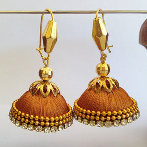 Golden Hook Jhumka