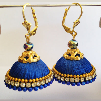 Blue Hook Jhumka 1