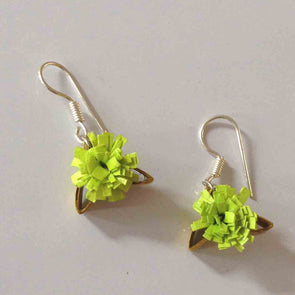 Quilled Flower Earrings