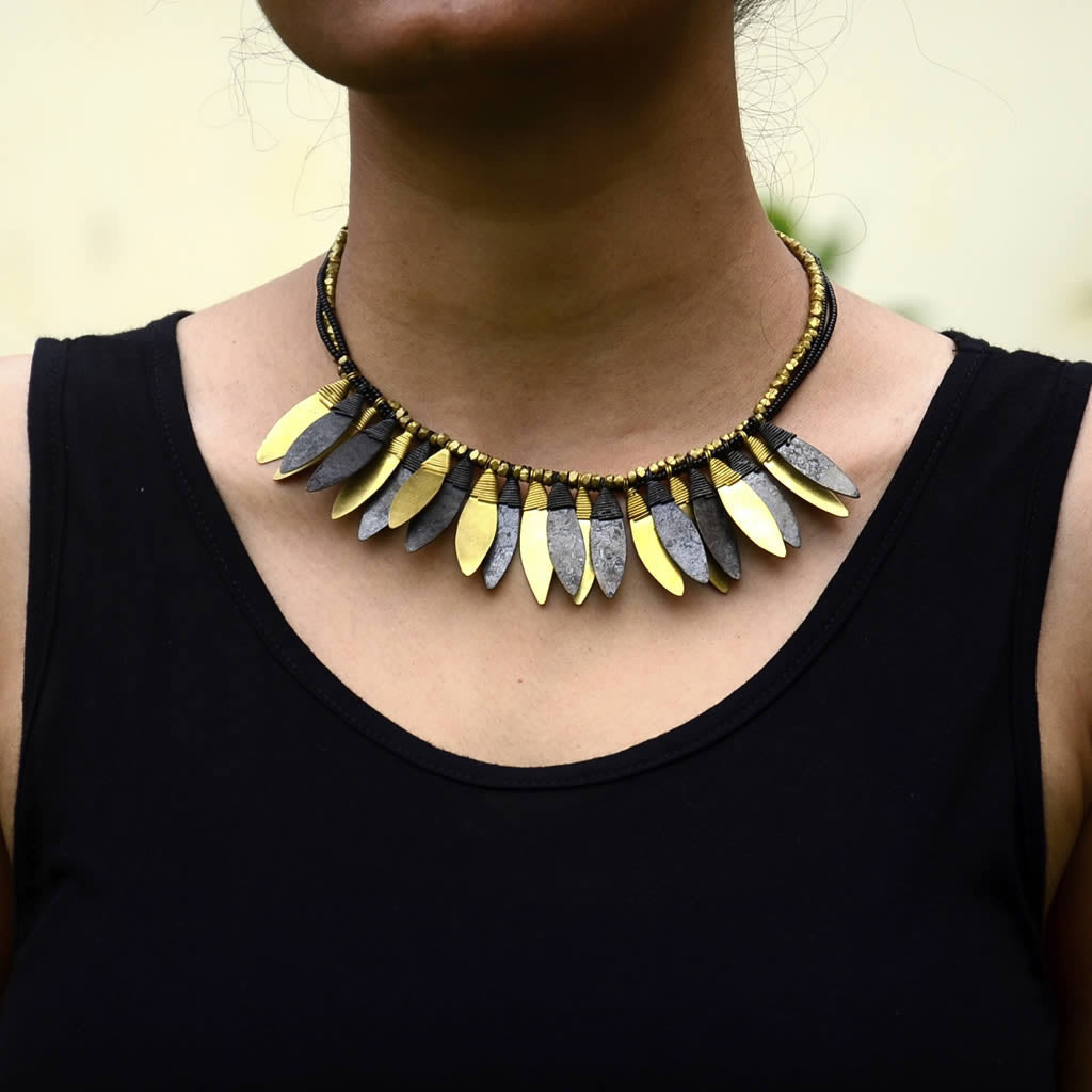 Dokra Necklace 17