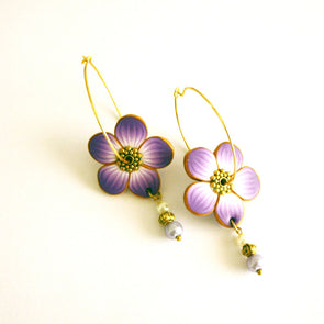 Lavender Earrings