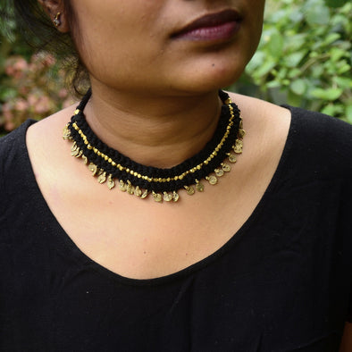 Classic Dokra Necklace