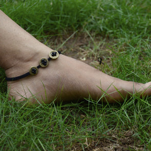 Dokra Anklet Buttons